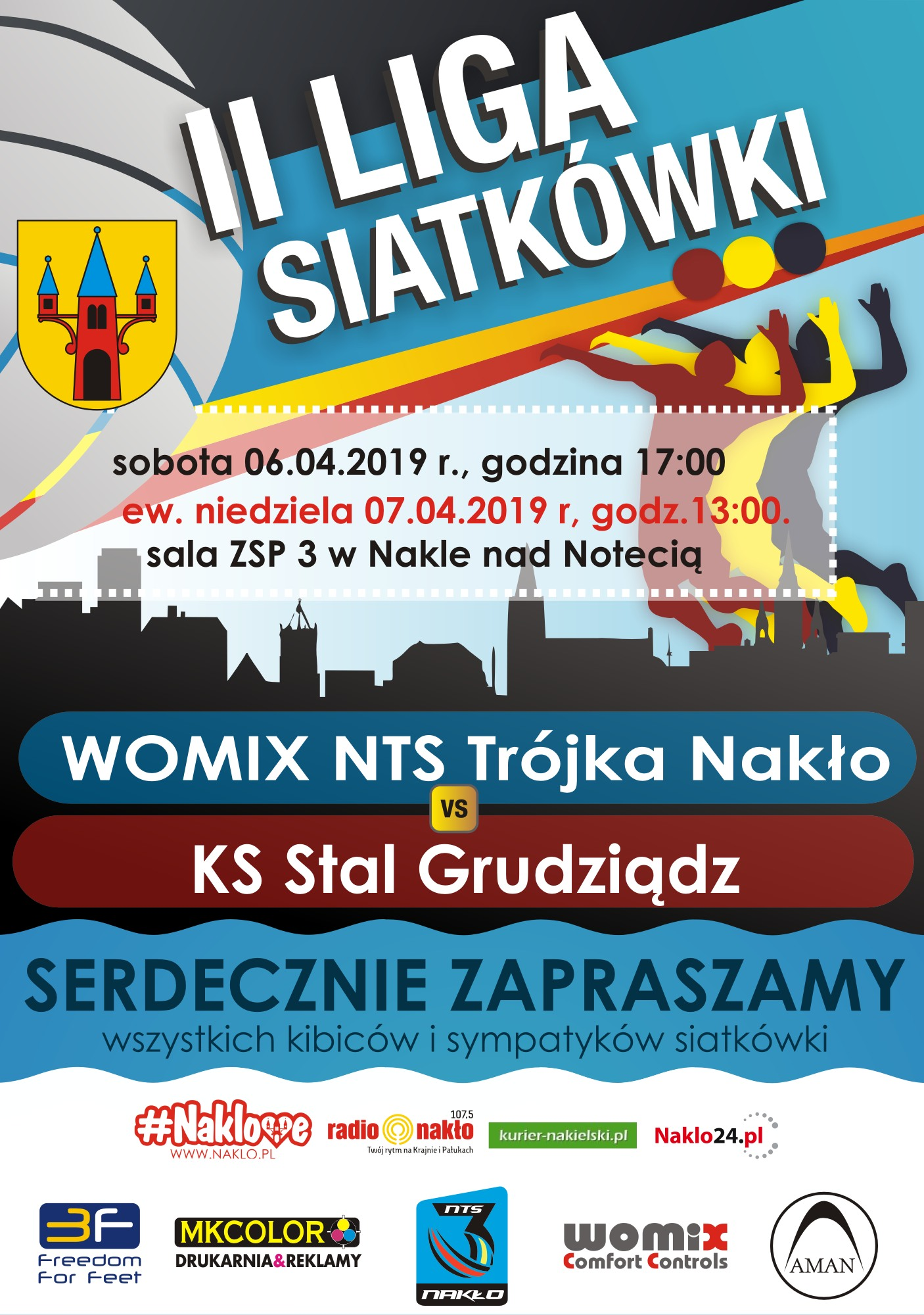plakat II liga Stal play off